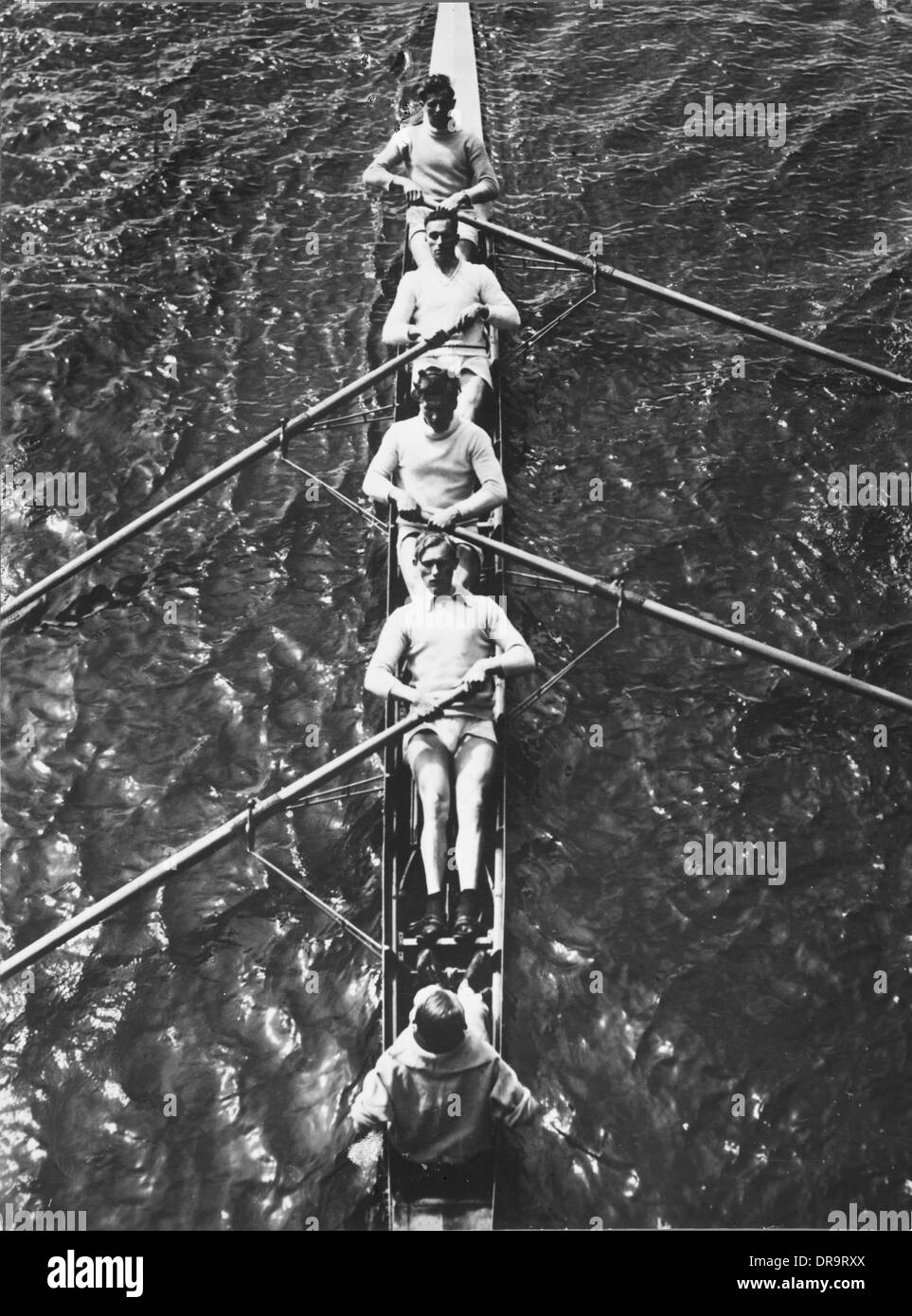 German Olympic rowing team 1932 - Stock Image