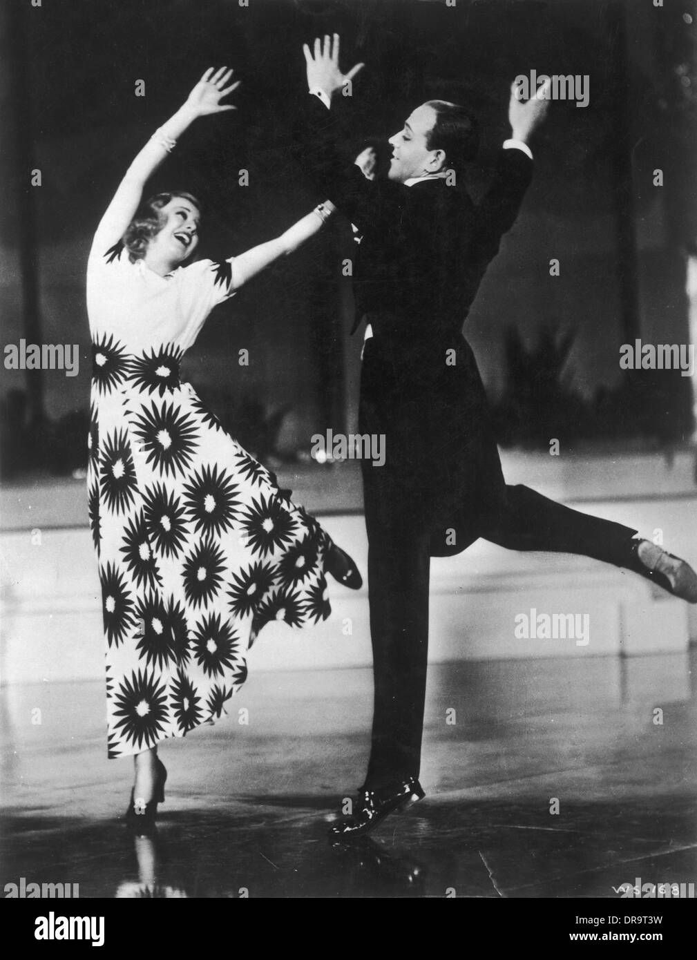 Fred Astaire And Ginger Rogers DancingStock Photos and Images