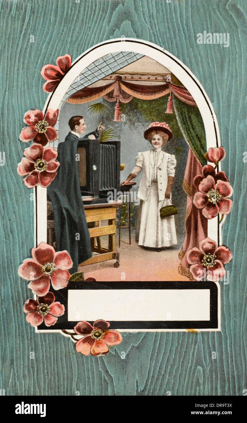 Photographic Studio scene - Stock Image