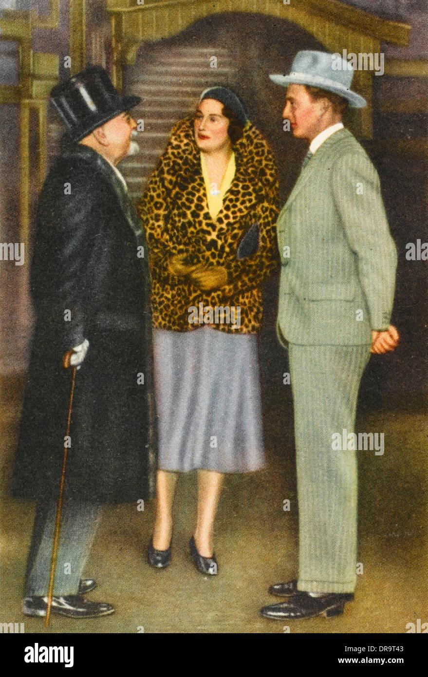 Queen Astrid of Belgium with Leopold III Stock Photo