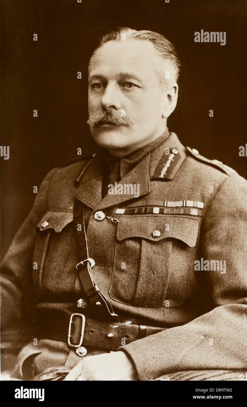 Field Marshall Sir Douglas Haig - Stock Image