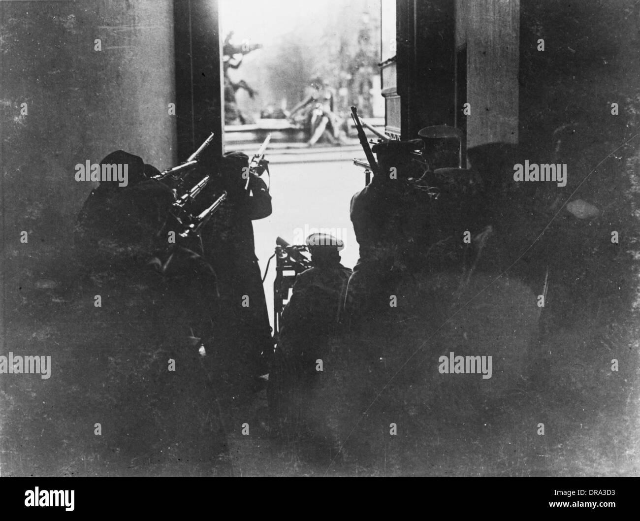 Berlin Revolution 1918 - Stock Image