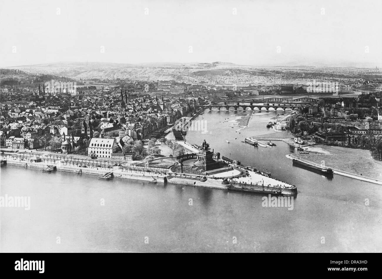 Koblenz, Germany - Stock Image