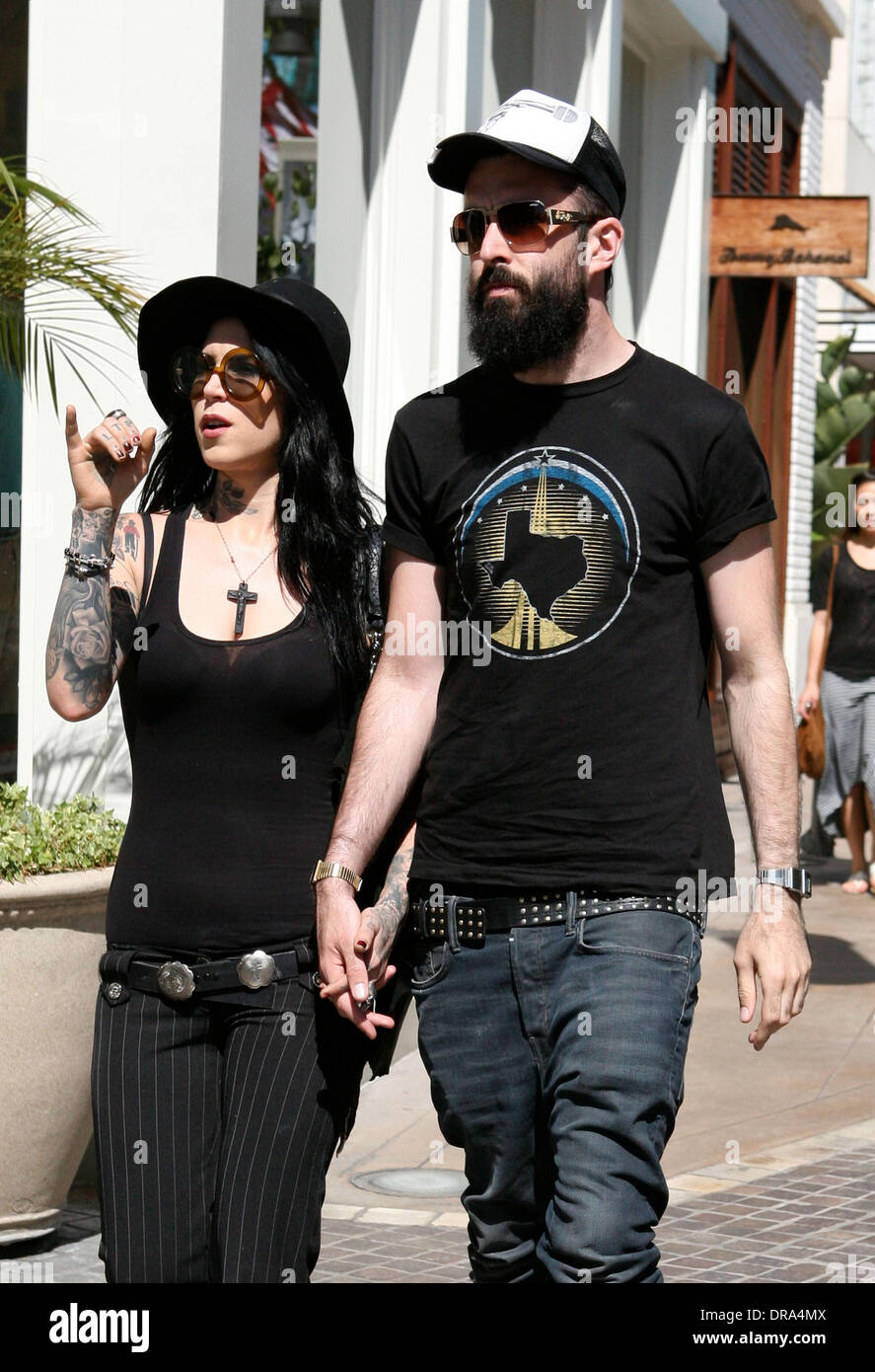 Are kat von d and scroobius pip dating