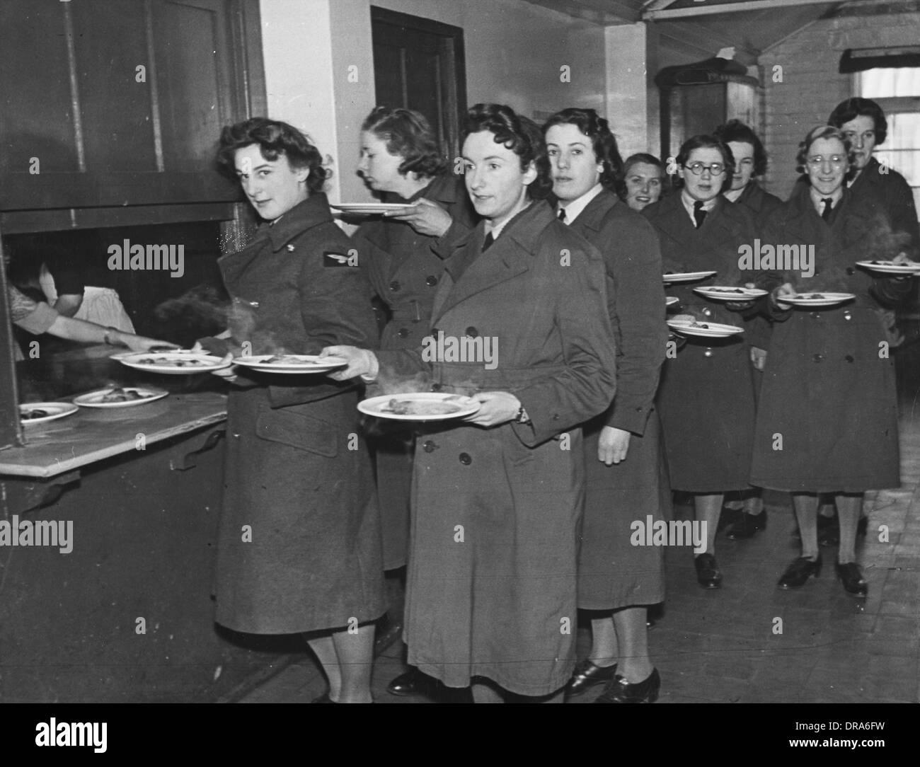WAAF WWII - Stock Image