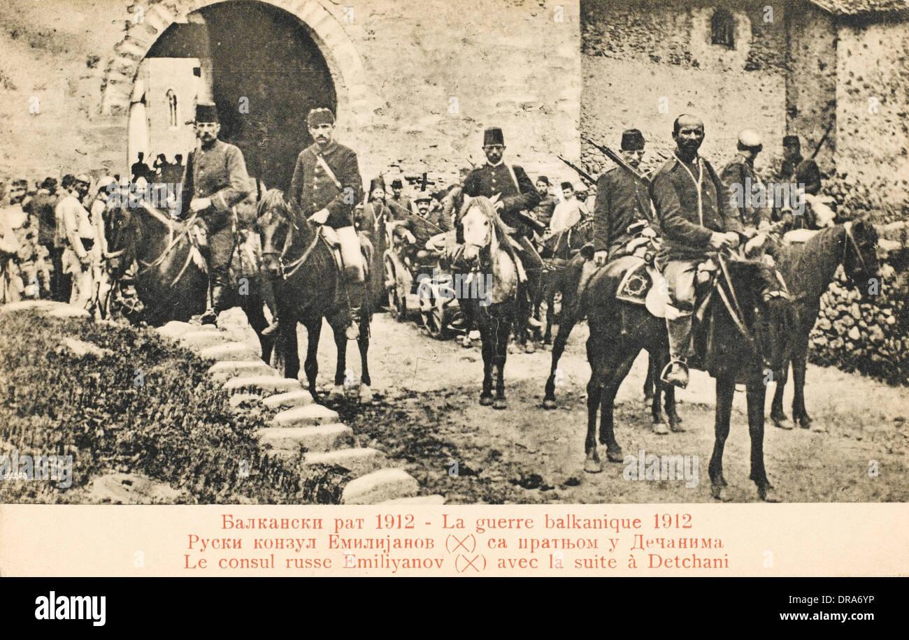 Balkan Wars 1912 - Stock Image