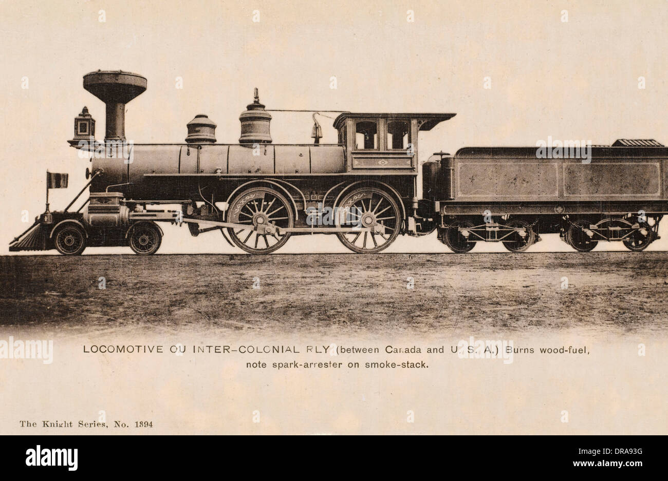 Inter-Colonial Railway - Stock Image