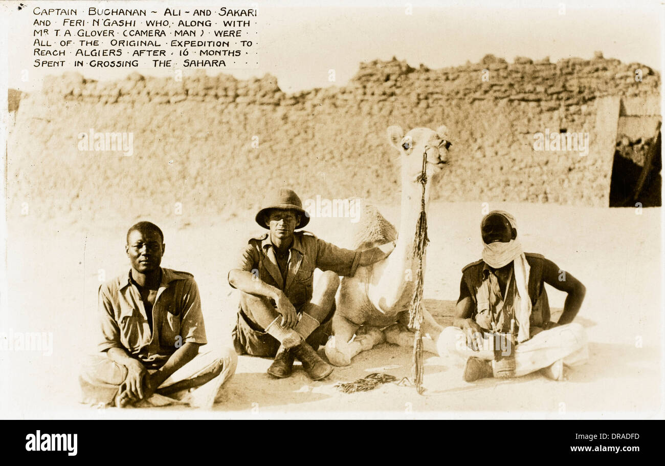 Mali - Team who crossed Sahara in 16 months - Stock Image
