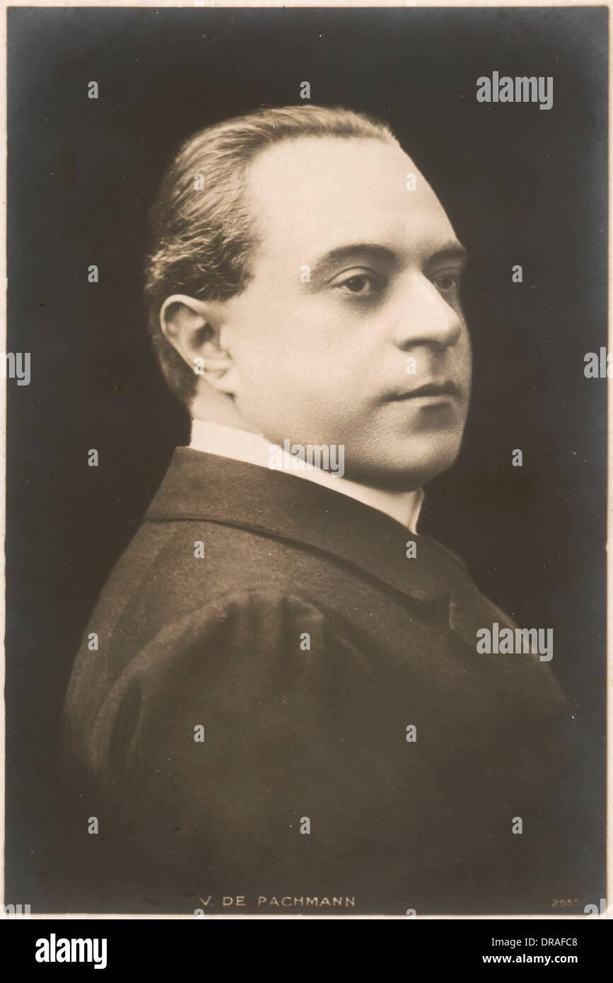 Vladimir de Pachmann - Stock Image