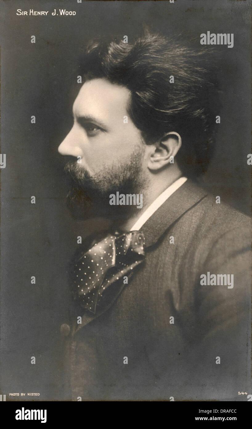 Sir Henry Wood - Stock Image
