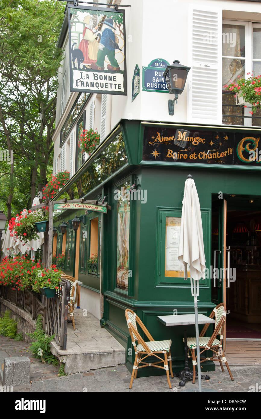 Montmartre Restaurant La Bonne Franquette