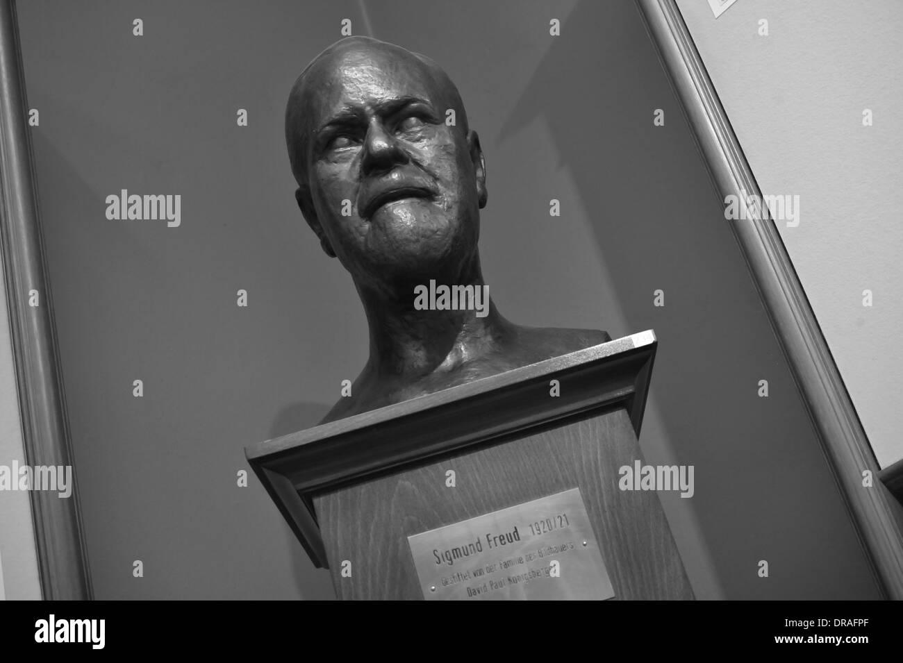 Sigmund Freud Museum, Wien, Österreich. Editorial use only. - Stock Image