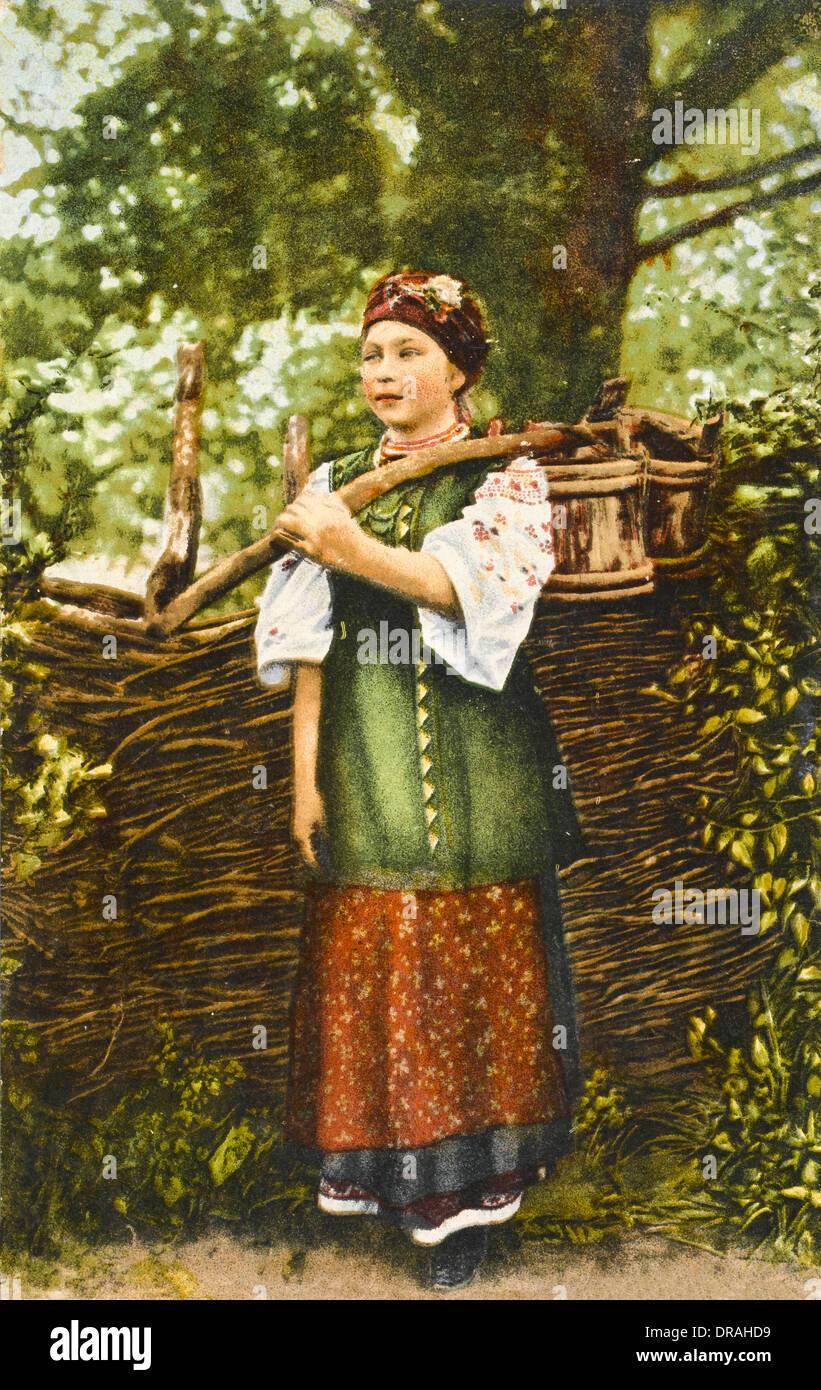 Ukrainian Woman - Stock Image