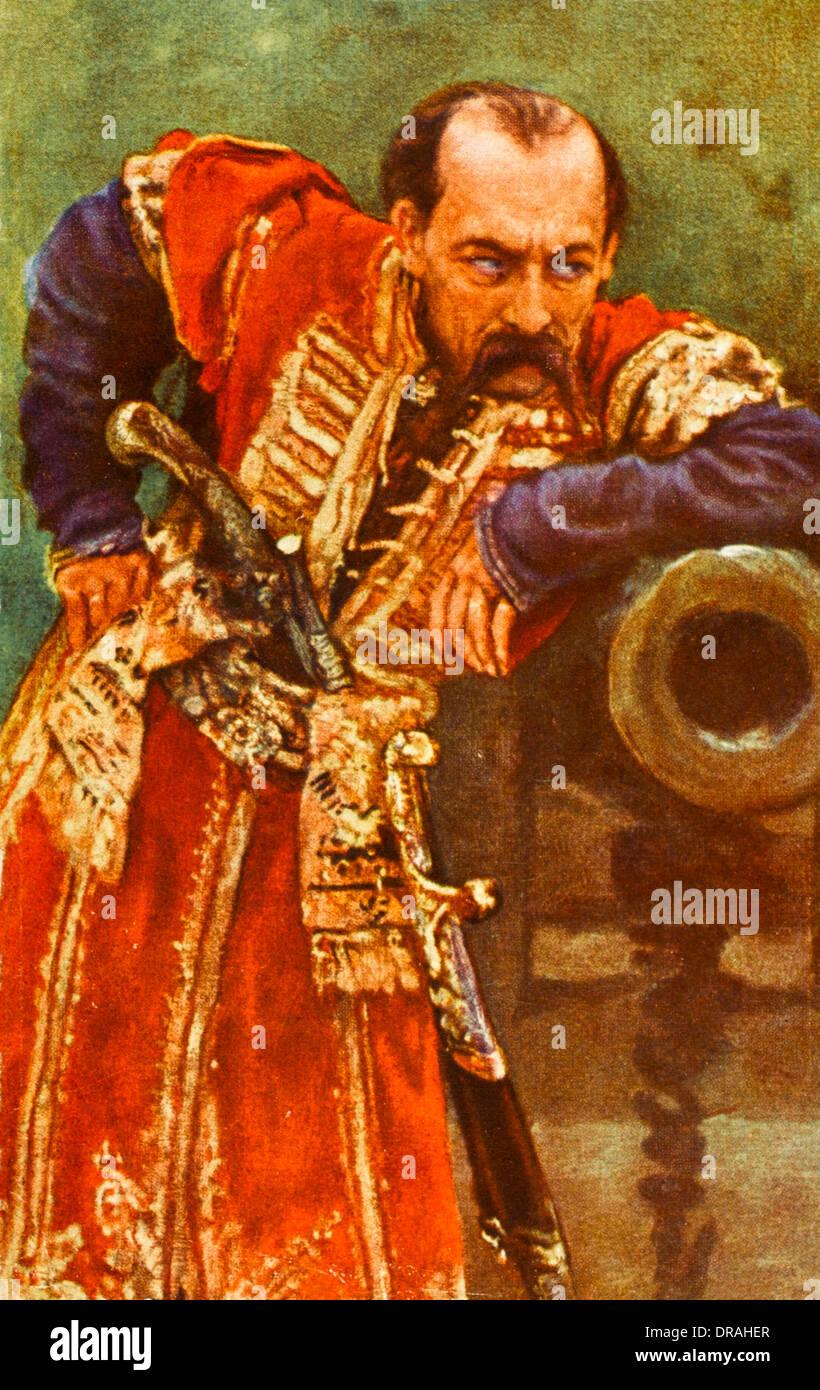Ukrainian Hetman or Chief - Stock Image