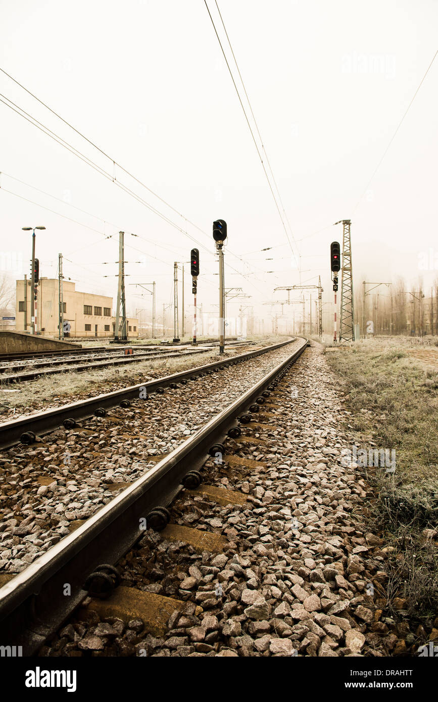 Train Tracks Abstract Stock Photos & Train Tracks Abstract Stock ...