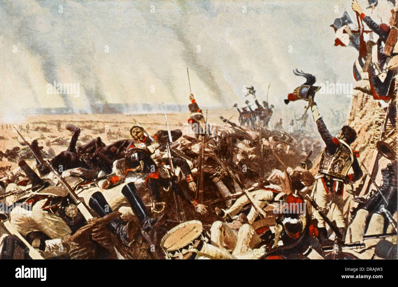 End of the Battle of Borodino Stock Photo: 66002527 - Alamy