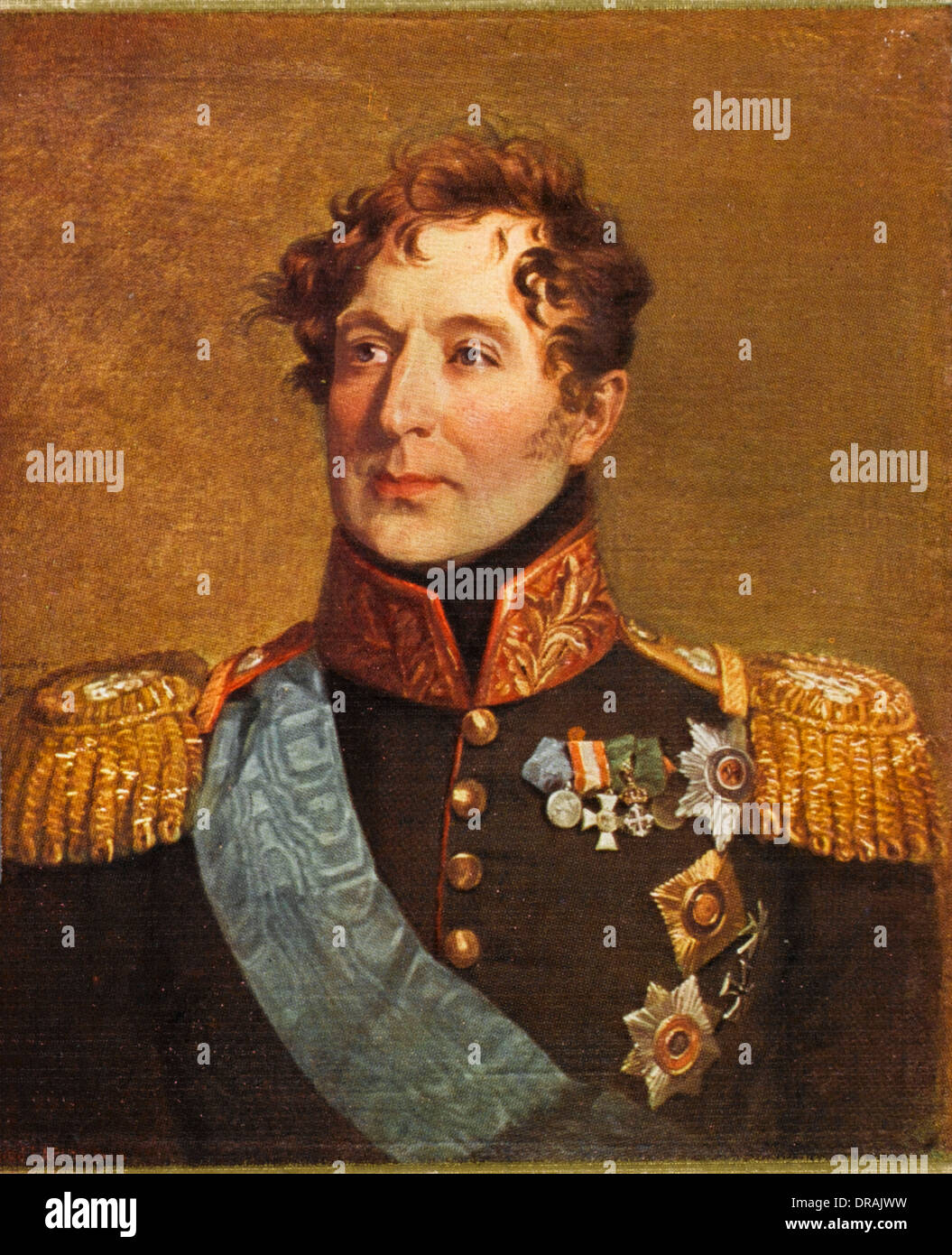 Count Mikhail Andreyevich Miloradovich - Stock Image