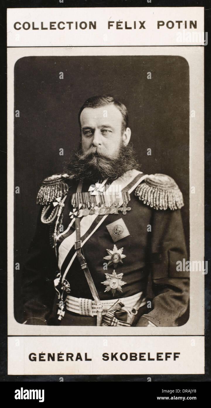 Mikhail Dmitrievich Skobelev - Stock Image