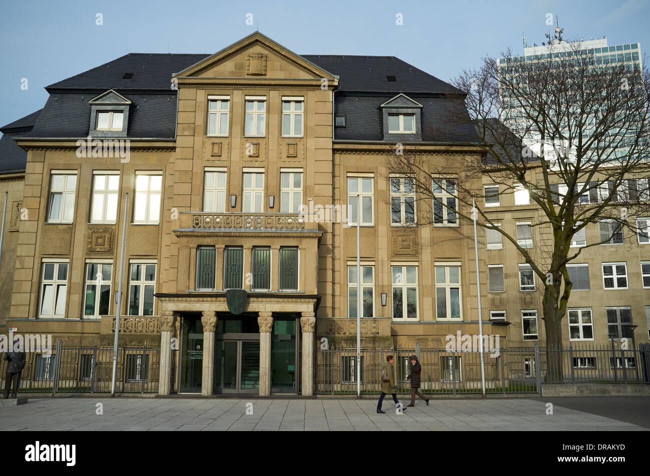 Local government building Dusseldorf Germany - Stock Image