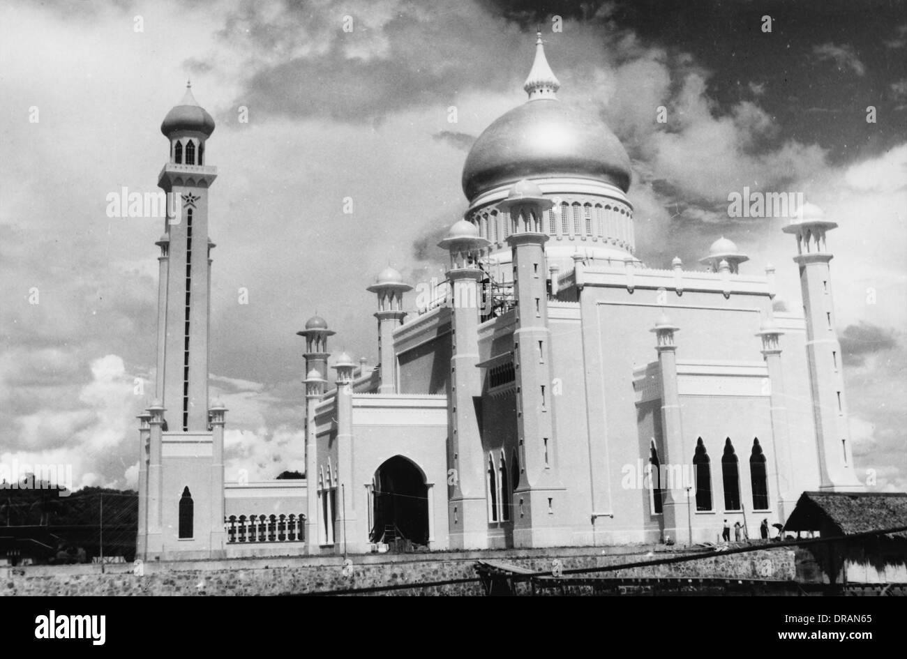 Brunei - Sultan Omar Ali Saifuddin Mosque - Stock Image