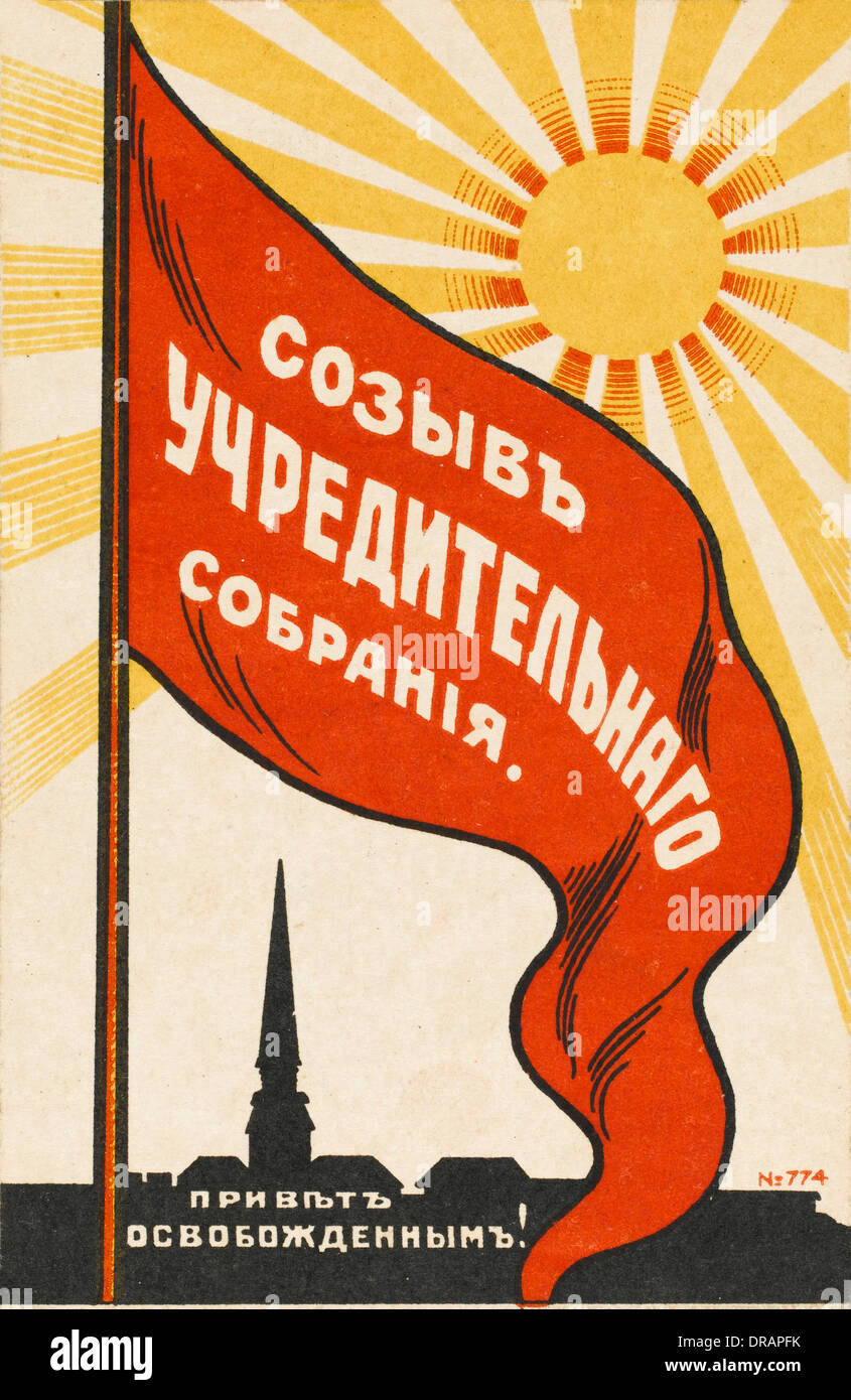 The Constituent Assembly (1917). Elections to the Constituent Assembly