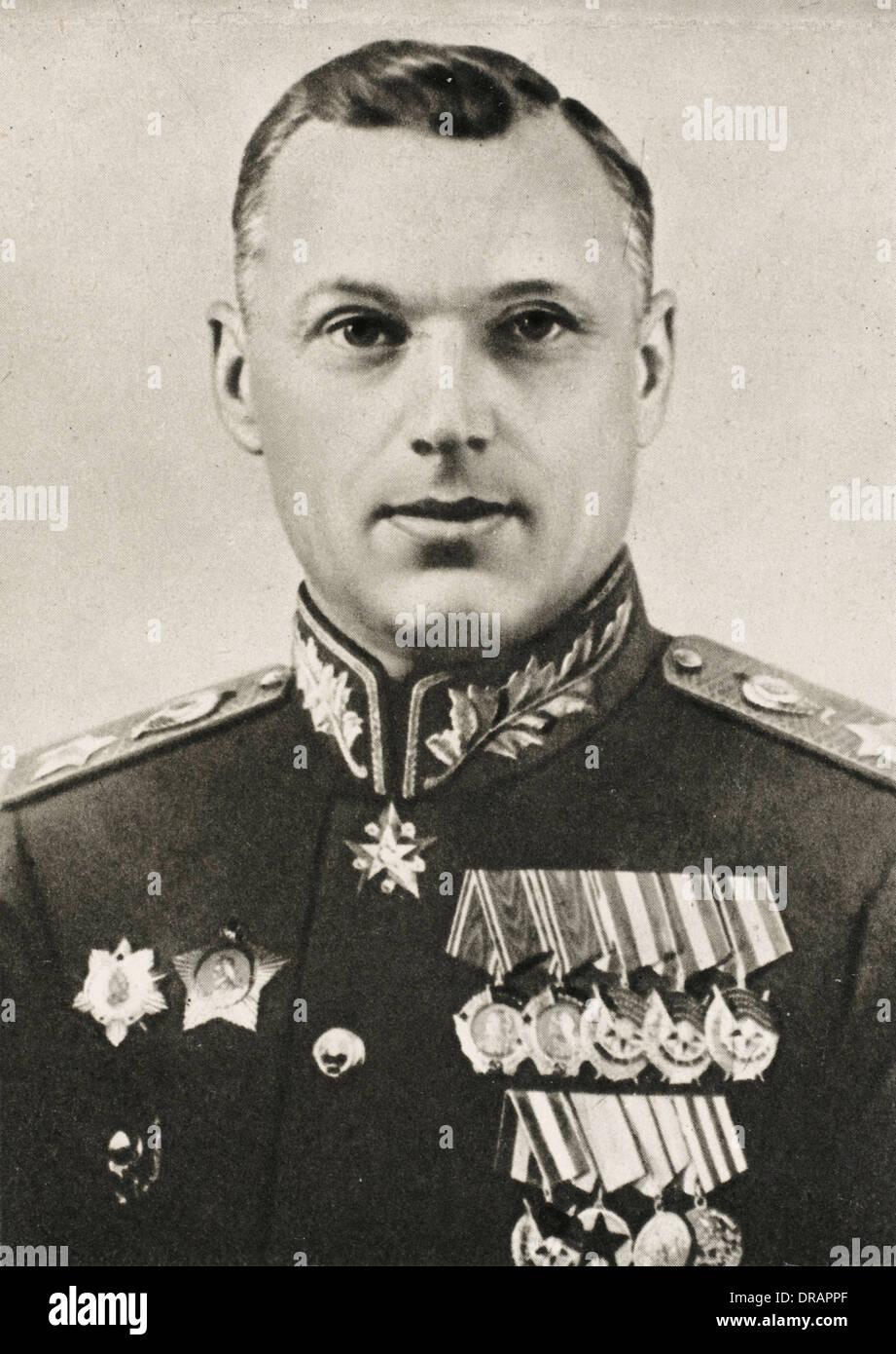 Konstantin Rokossovsky - Stock Image