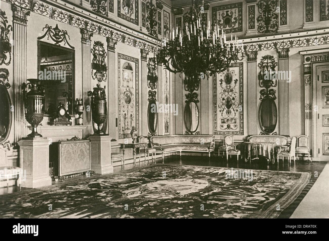 Arabesque Drawing Room, Catherine Palace, Tsarkoe Selo - Stock Image