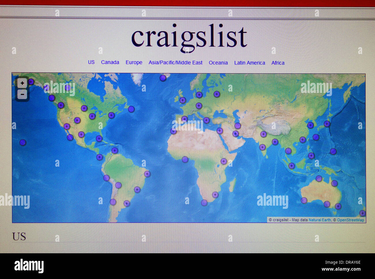 craigslist colombia south america