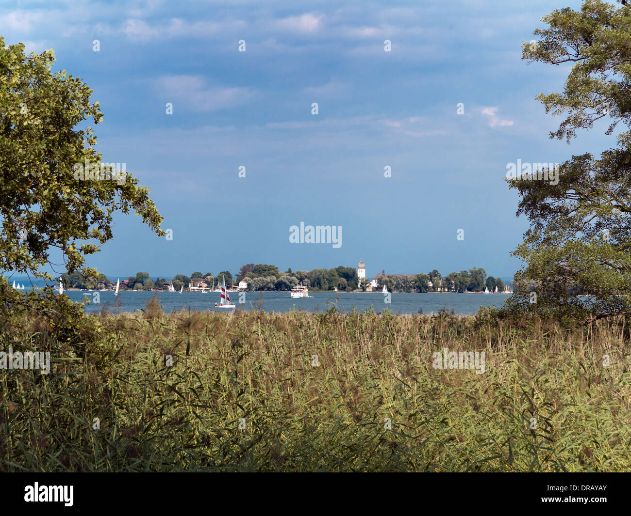 Fraueninsel Island - Stock Image