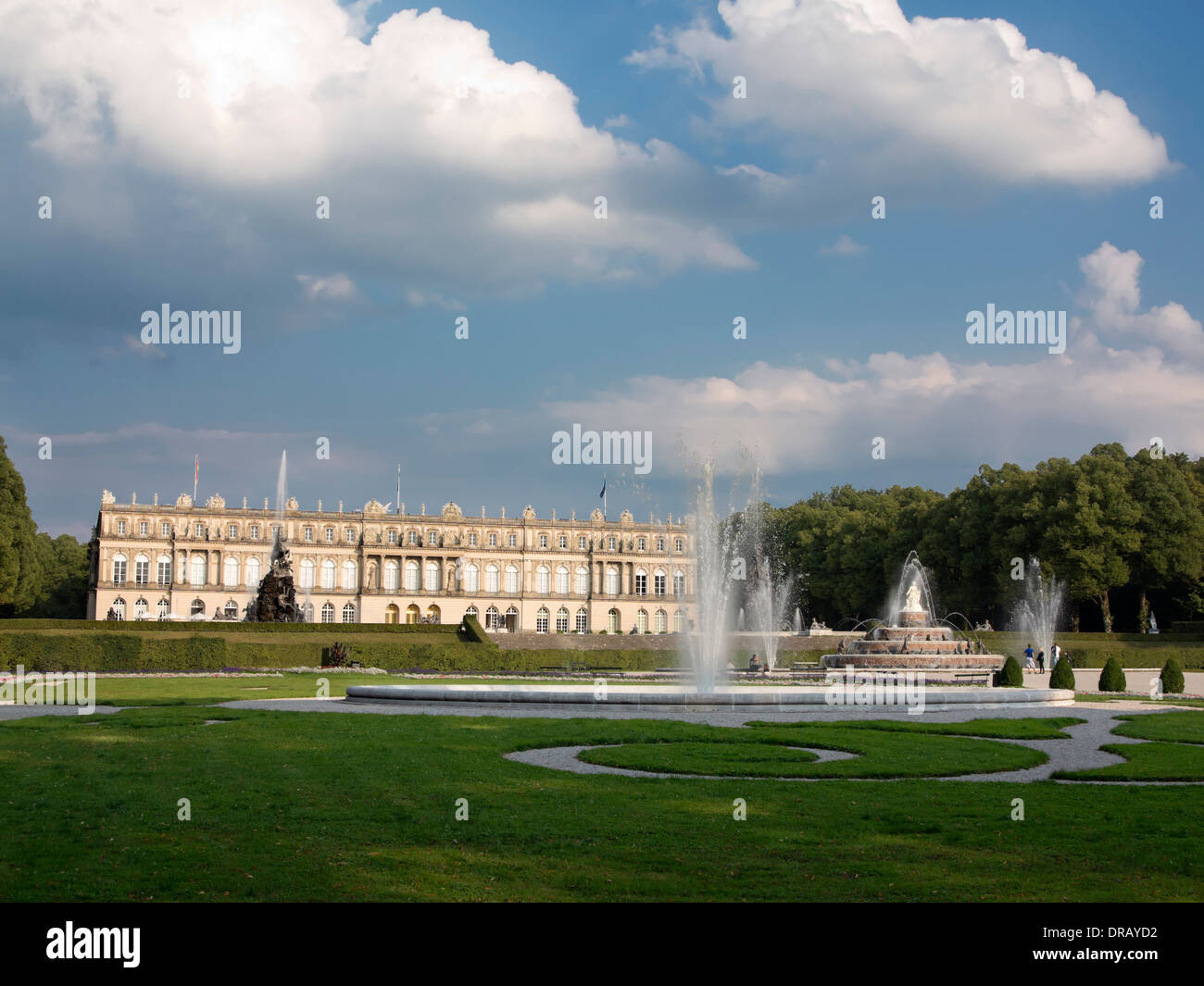 Herrenchiemsee Palace, Bavaria - Stock Image