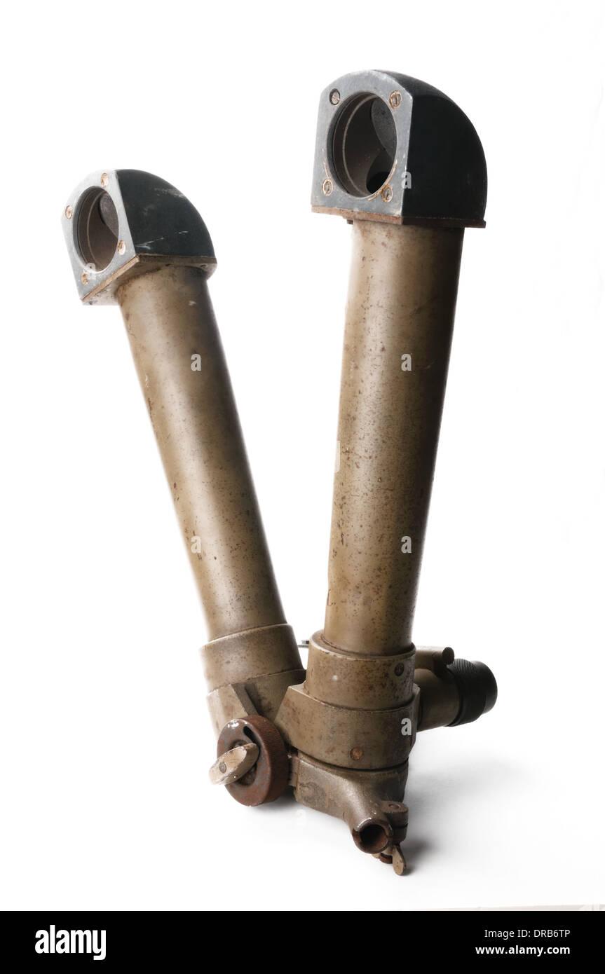 German WWII BMK SF 14 Trench Periscope Binoculars - Stock Image