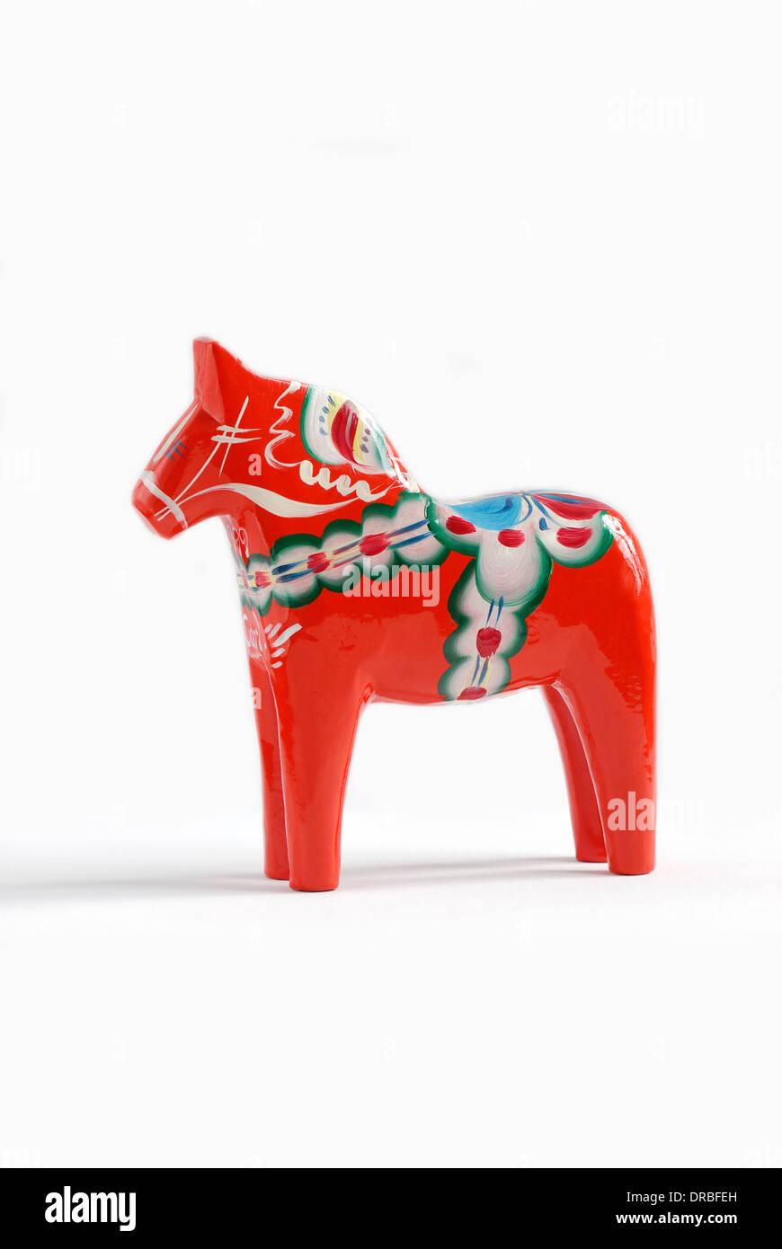 Swedish dalahorse - Stock Image