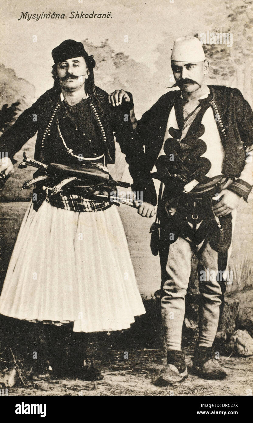 Albania - Muslims from Shkoder - Stock Image