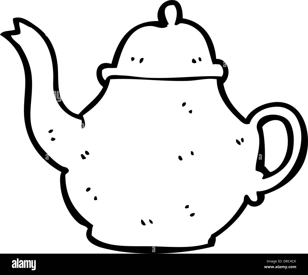 Cartoon Teapot Stock Vector Art Illustration Vector Image