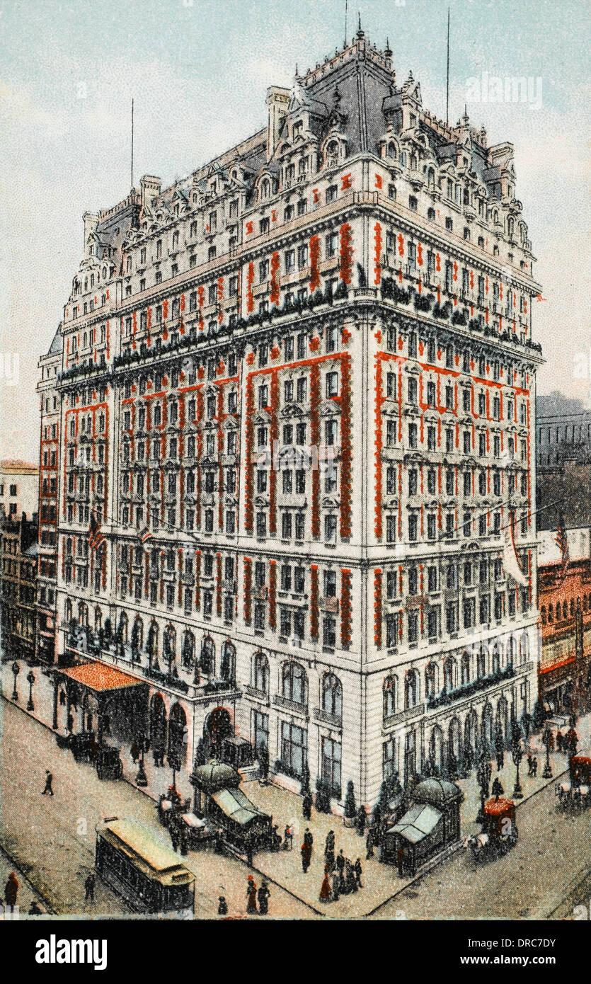 Knickerbocker Hotel - New York City Stock Photo