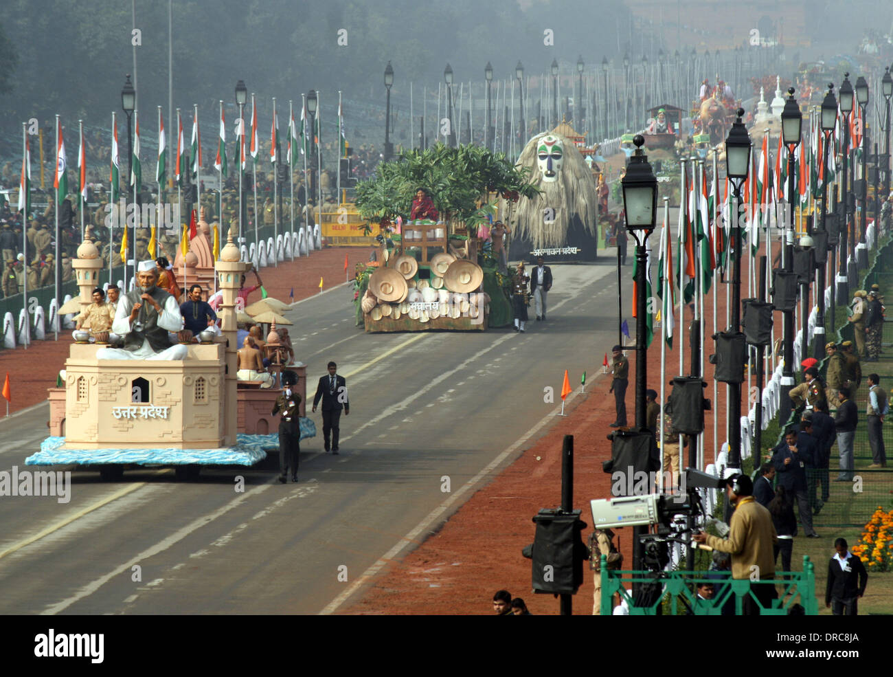 Republic Day India Parade High Resolution Stock Photography And Images Alamy