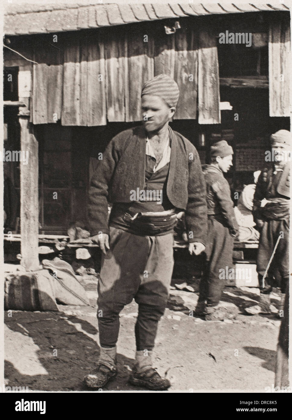 Bosnian Peasant - Stock Image