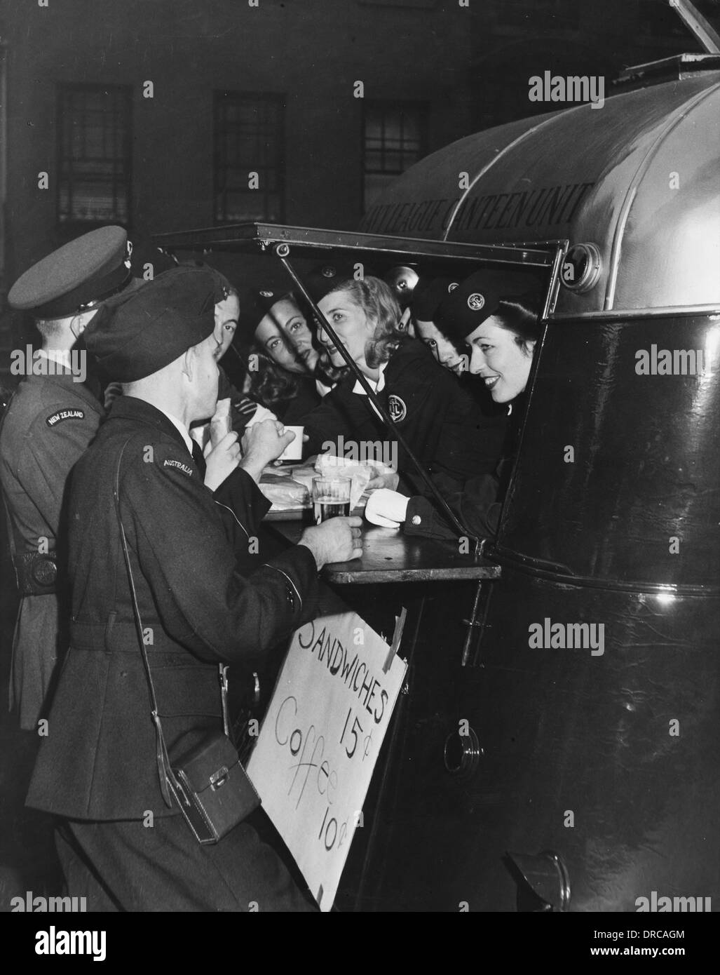 Navy League Canteen Unit WWII - Stock Image
