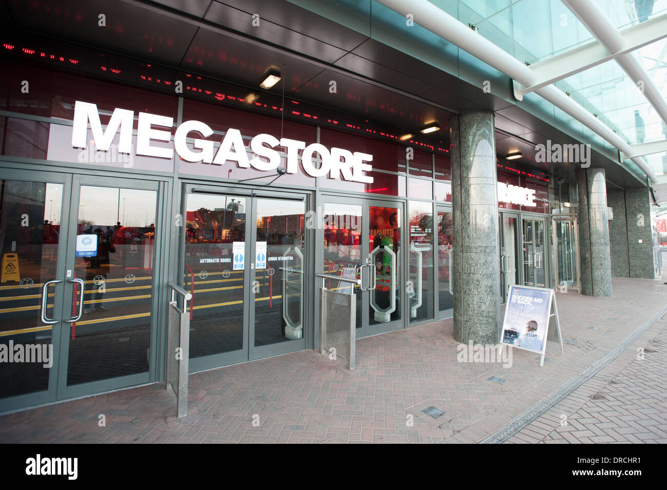 97118cca441 Megastore. Old Trafford. Manchester United Stock Photo  66045589 - Alamy