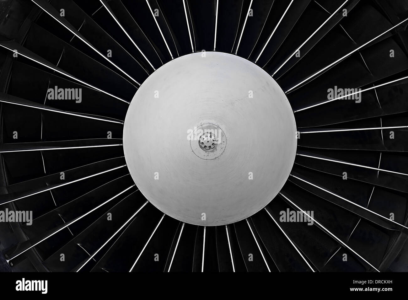 Jet turbine - Stock Image