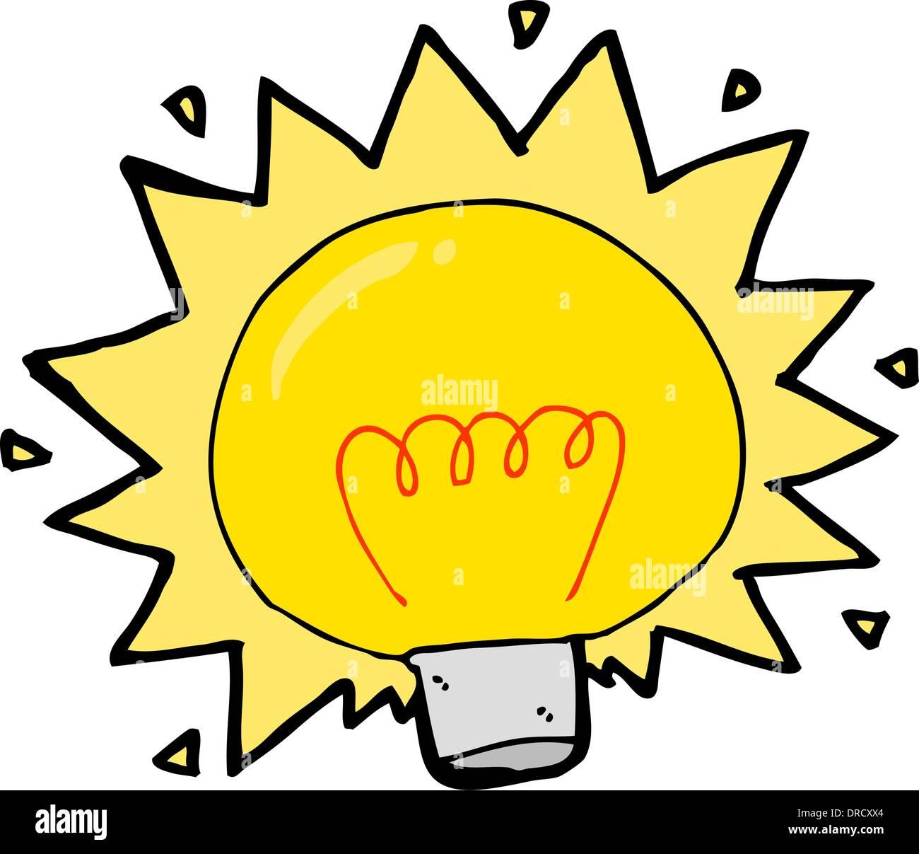 Cartoon electric light bulb stock vector art illustration vector cartoon electric light bulb publicscrutiny Images