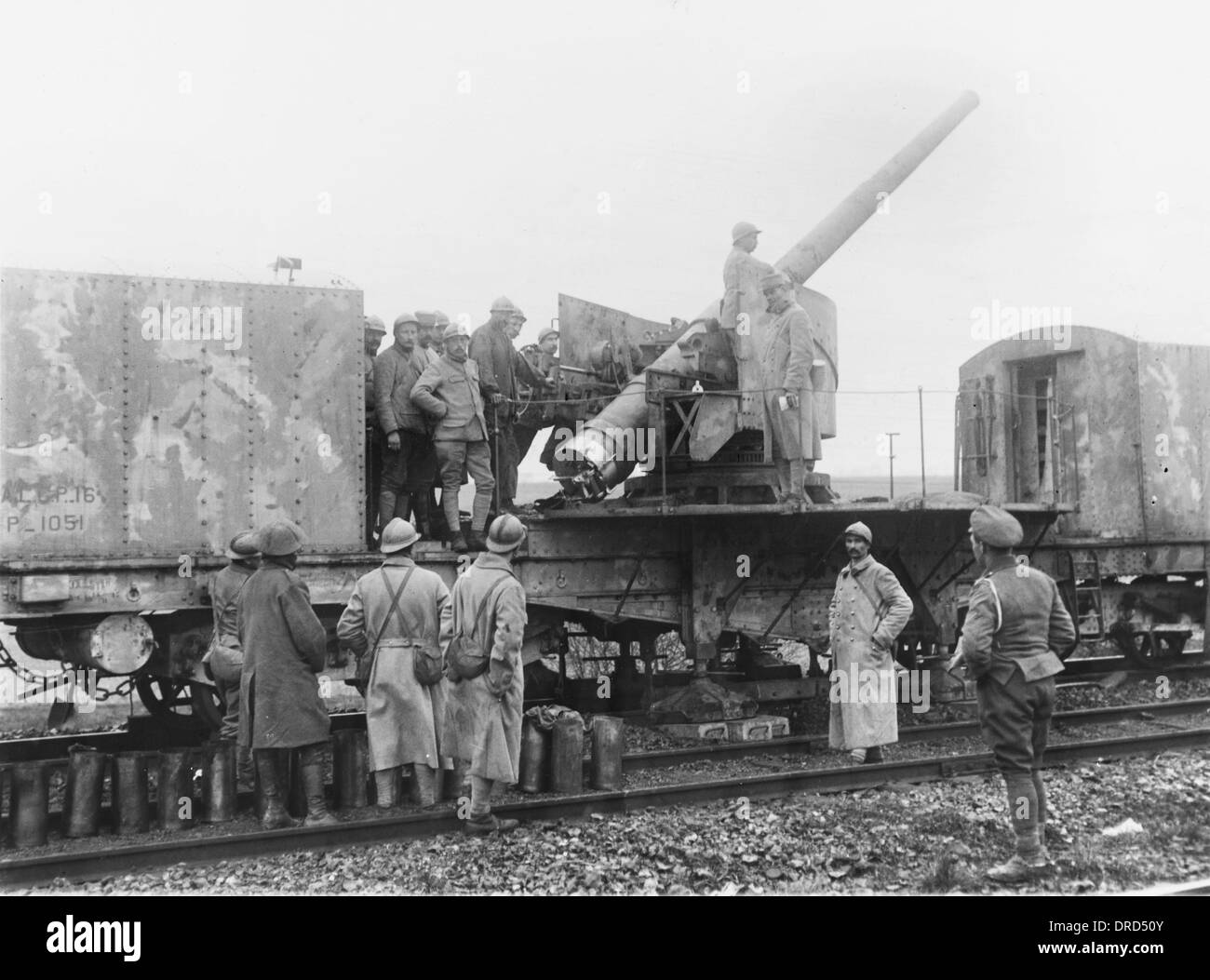 French artillery - Stock Image