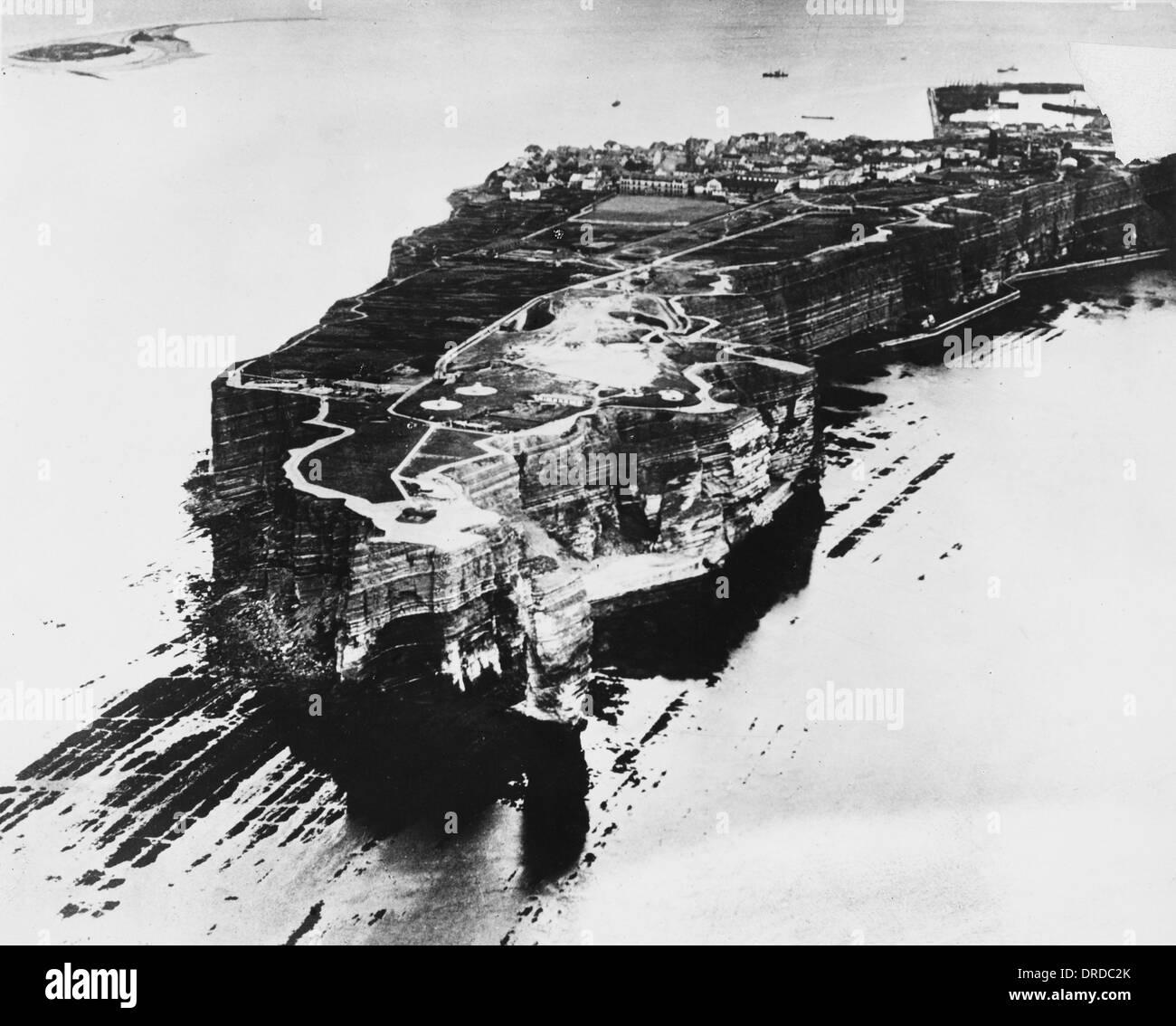 Heligoland WWI - Stock Image
