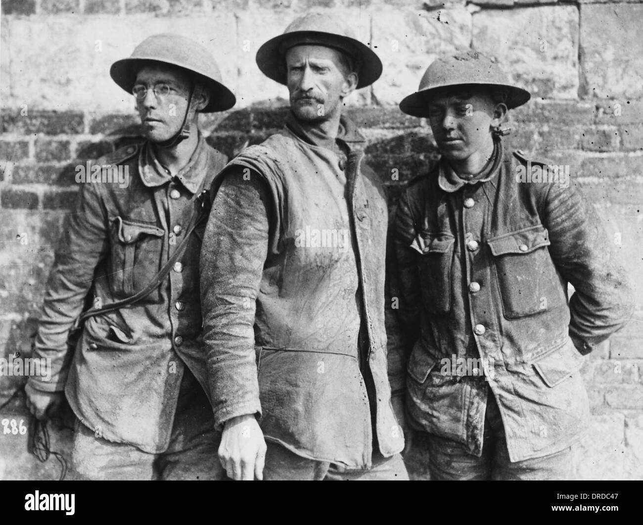 British prisoners WWI - Stock Image