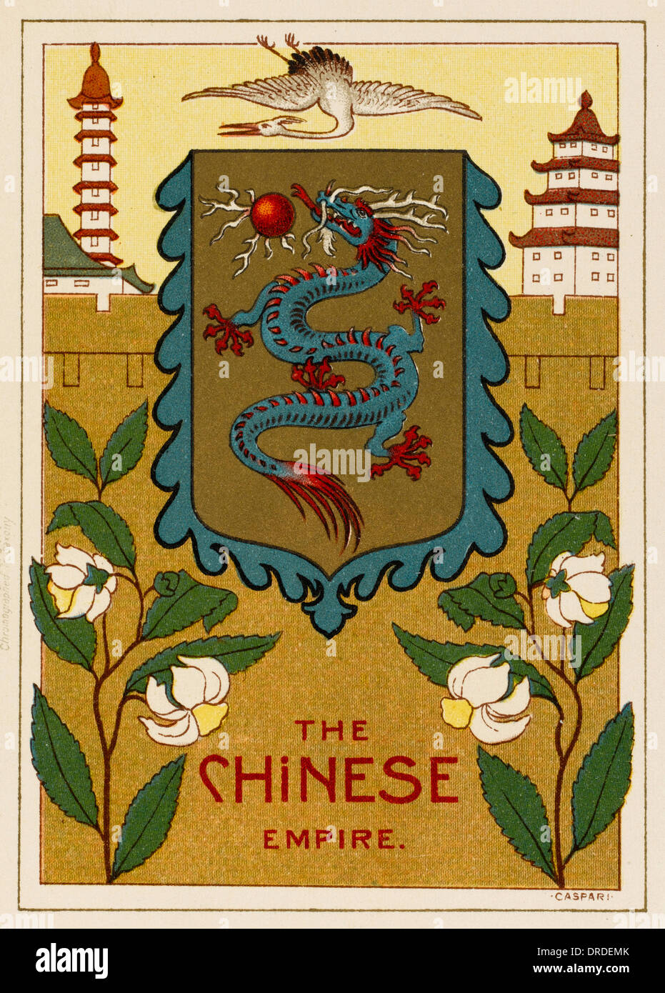 The Chinese Empire - Stock Image