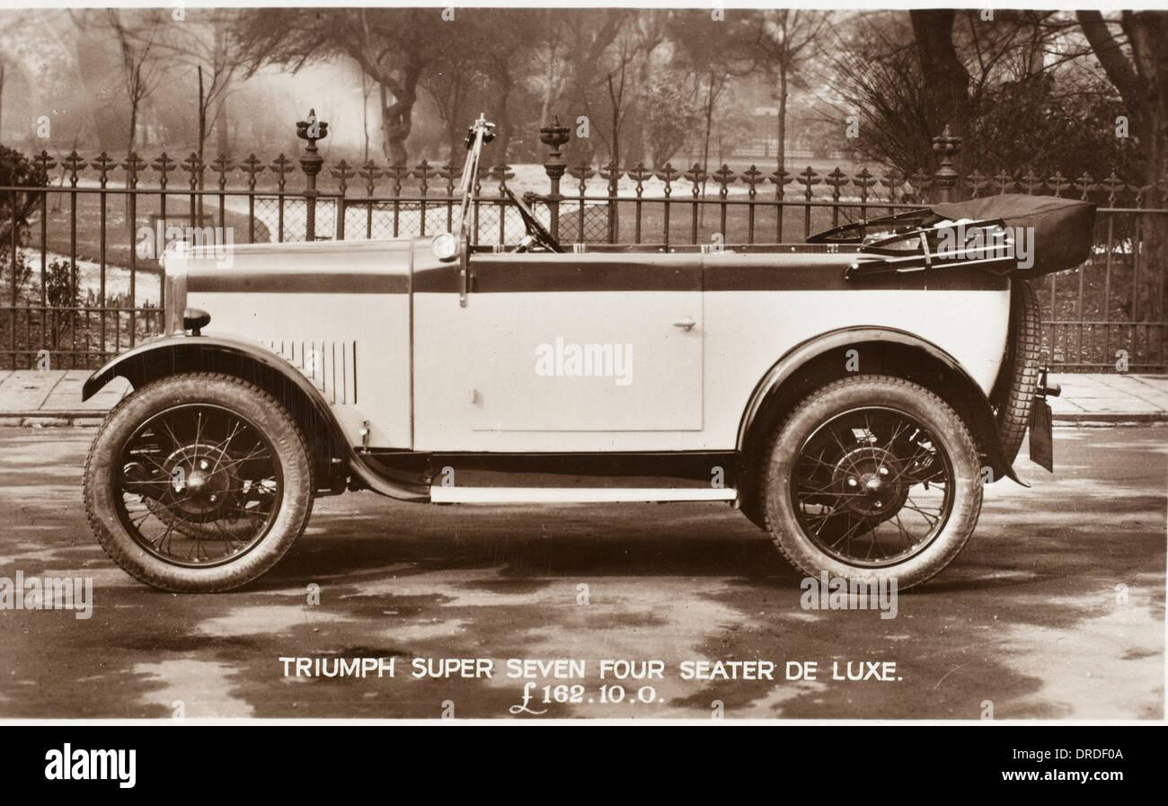 Triumph Super Seven Four Seater De Luxe - Stock Image