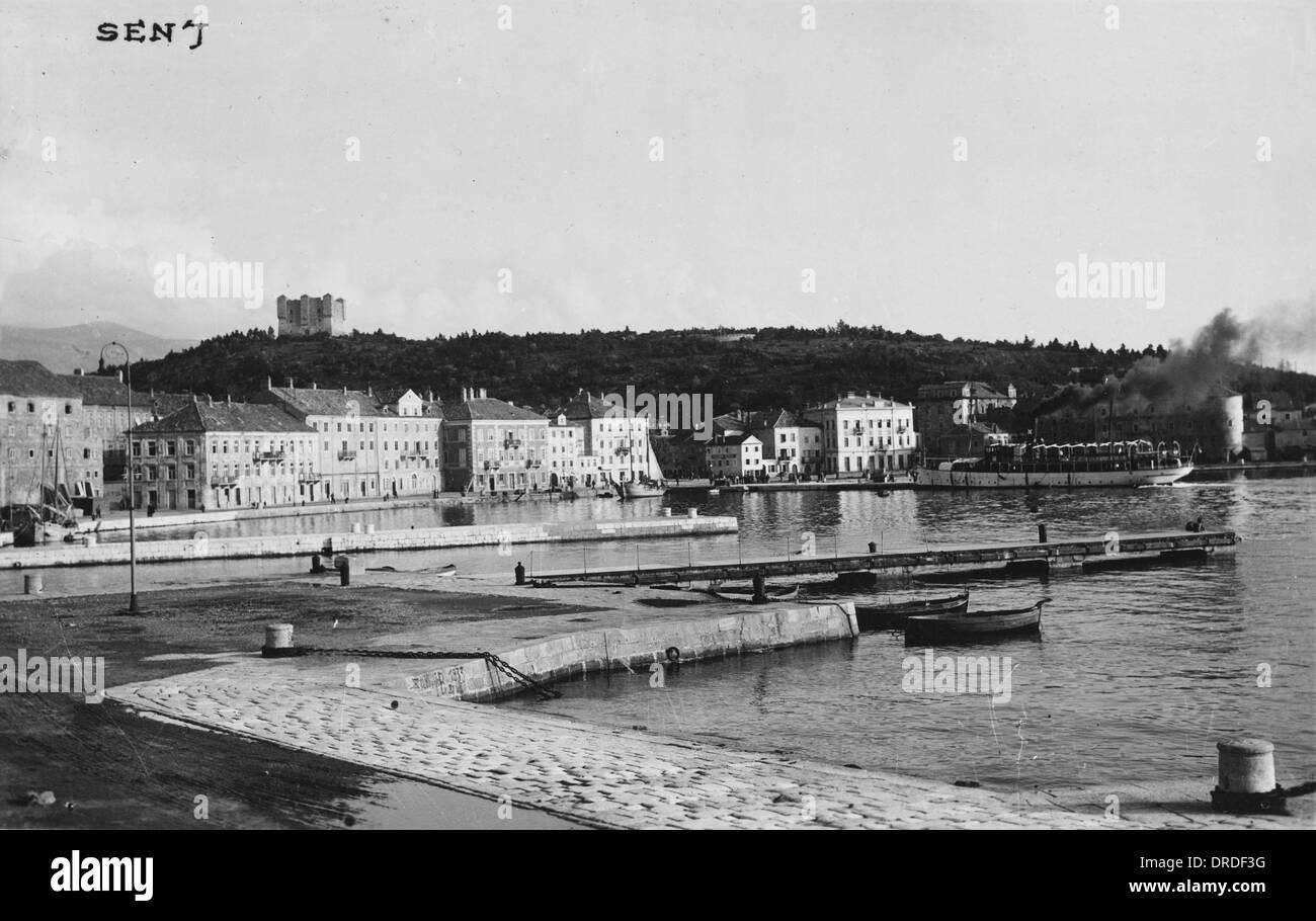 Senj, Croatia - Stock Image