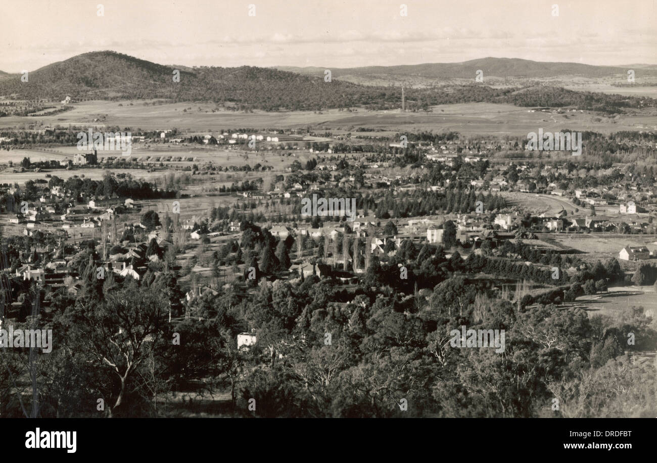 Canberra 1930s - Stock Image