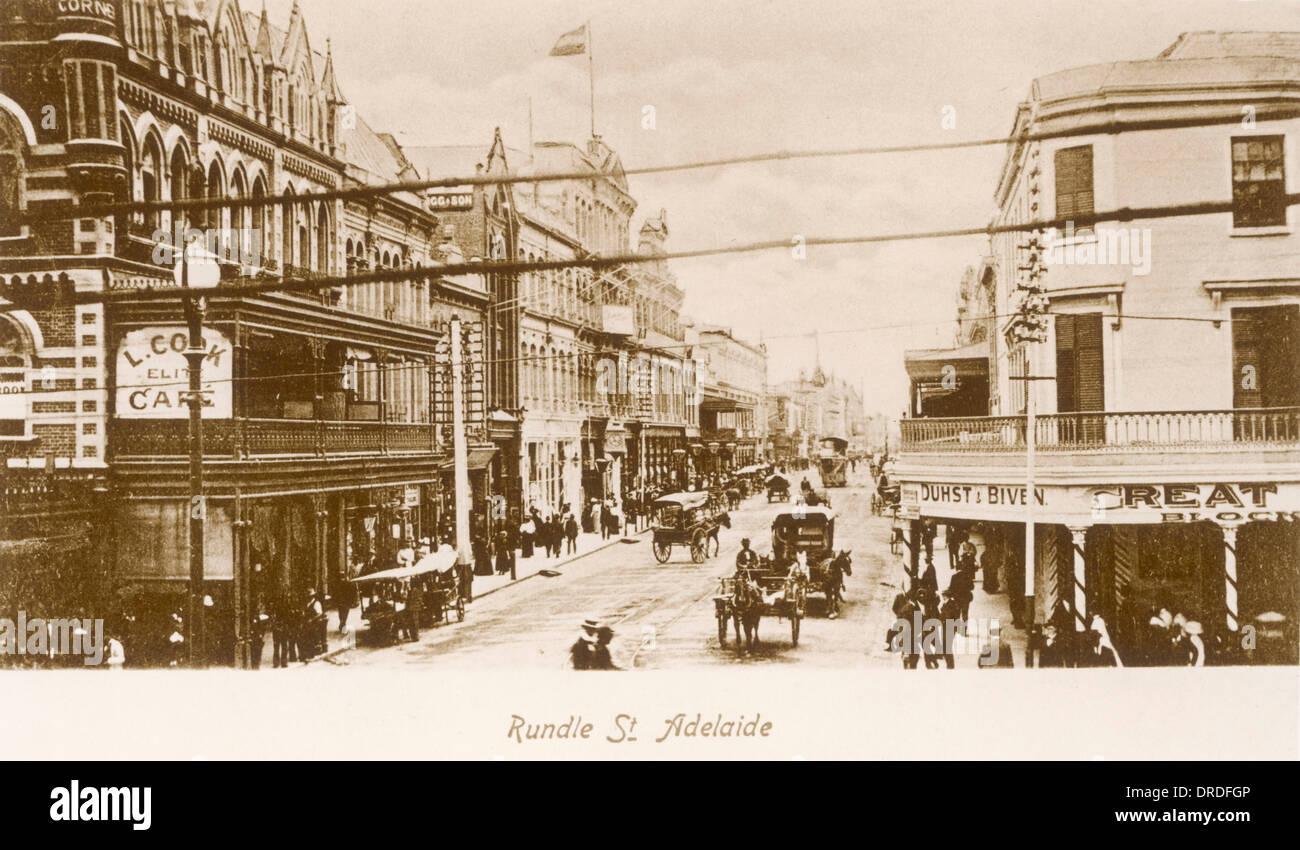 Adelaide 19th century - Stock Image