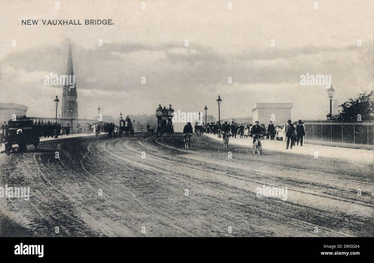 The 'New' Vauxhall Bridge, Pimlico, London - Stock Image